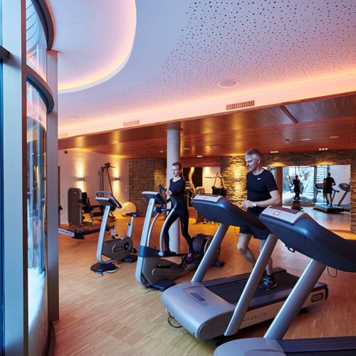 Hotel Auriga in Lech - fitness center