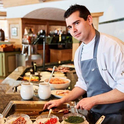 Show Kitchen im Hotel Auriga