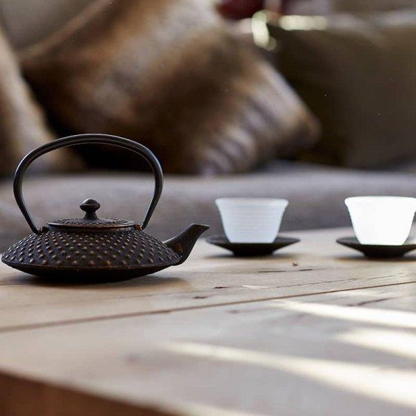 Teeauswahl im Hotel Auriga