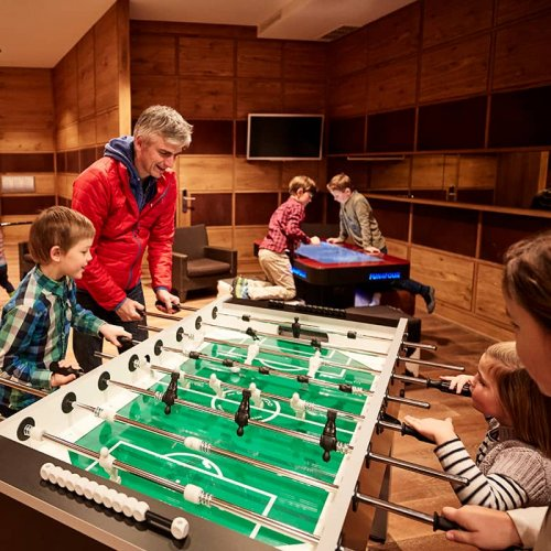 Table football at hotel Auriga