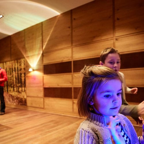 The child-friendly hotel in Lech