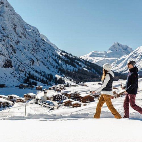 Winterspaziergang am Arlberg |Lech Zürs Tourismus GmbH