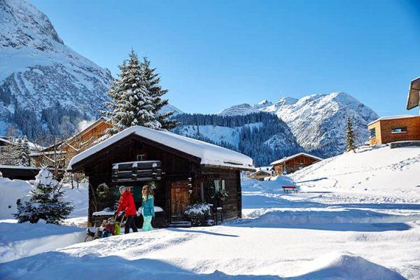 Skiurlaub mit der ganzen Familie in Lech am Arlberg