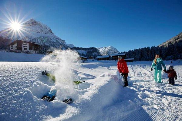 Familienspaß im Lech am Arlberg