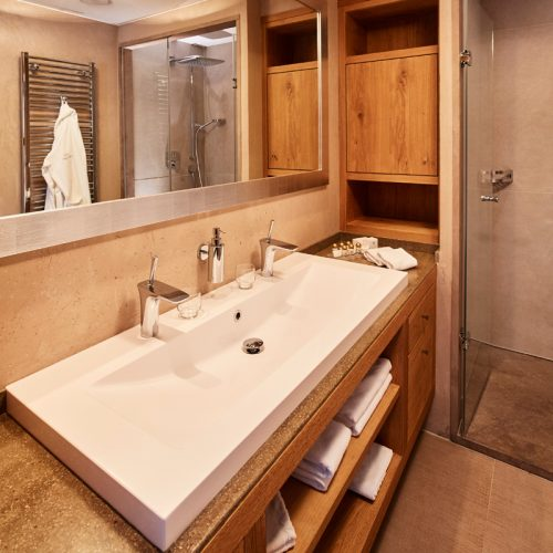 Exclusive bathrooms in our apartments