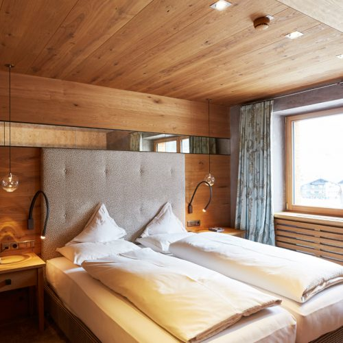Auriga hotel rooms at the Arlberg