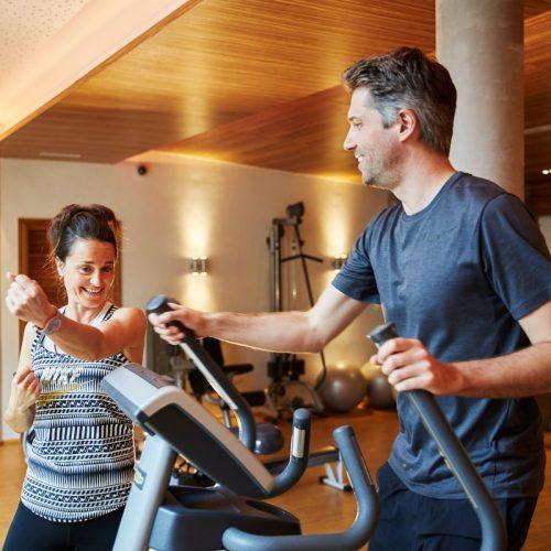 Modernste Fitnessgeraete