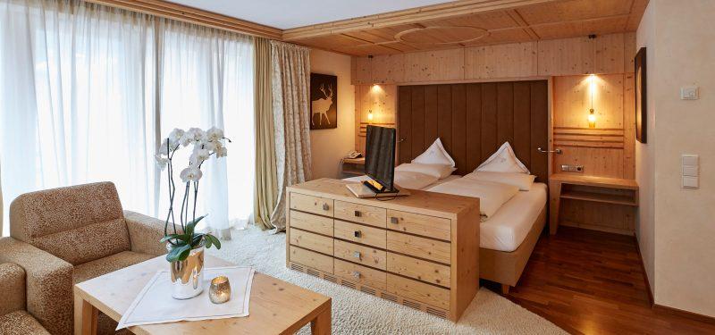 Cozy rooms at the Hotel Auriga