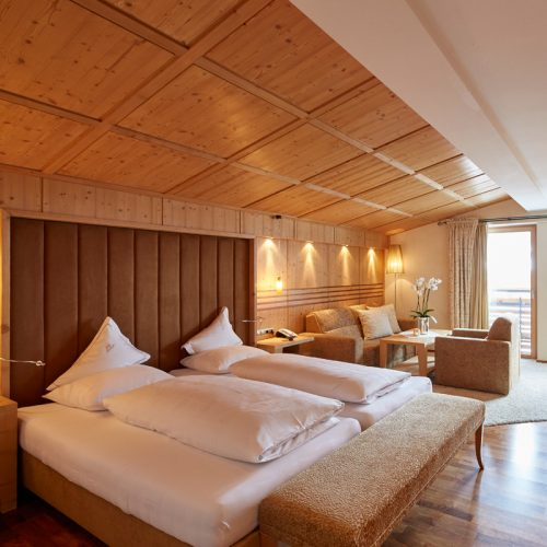 Exclusive rooms in Lech