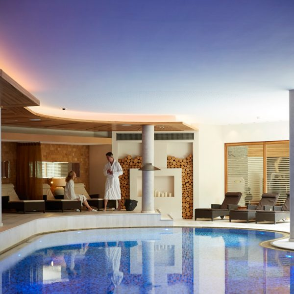 Wellness pure in the spa area of the Hotel Auriga