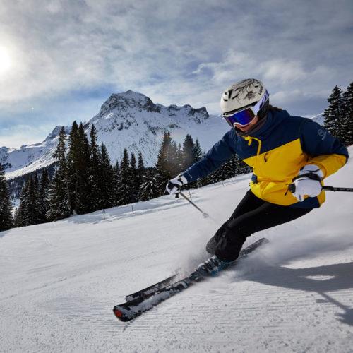 Beste Schneeverhältnisse auf den Skipisten in Lech am Arlberg