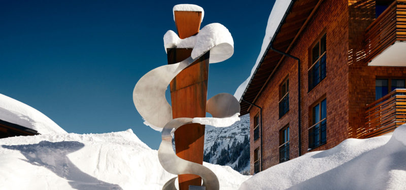 Hotel Auriga - Art walk Lech
