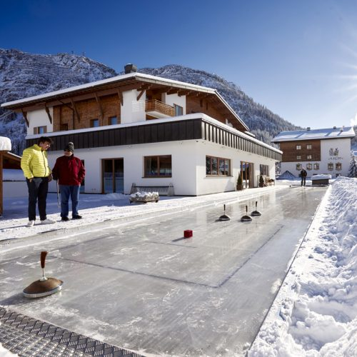 Winterliches Turnier beim Hotel Auriga in Lech