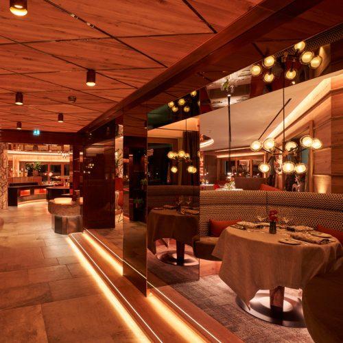 New restaurant in the Hotel Auriga in Lech
