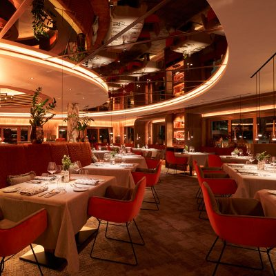 The new restaurant in the Hotel Auriga with an exclusive ambience